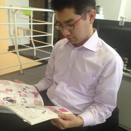 磯崎くん何読んでるの?